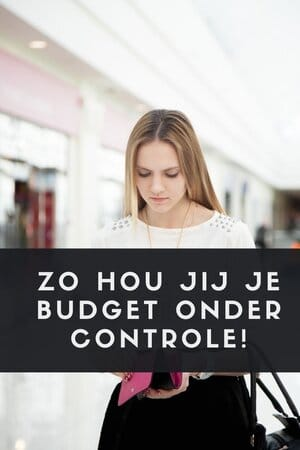 budget onder controle